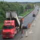 A24 Road resurfacing with low-noise asphalt